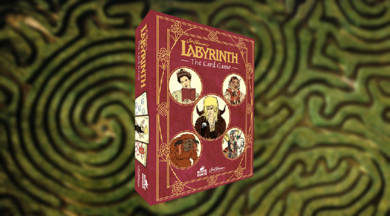 Jim Henson's Labyrinth the card Game meniac news