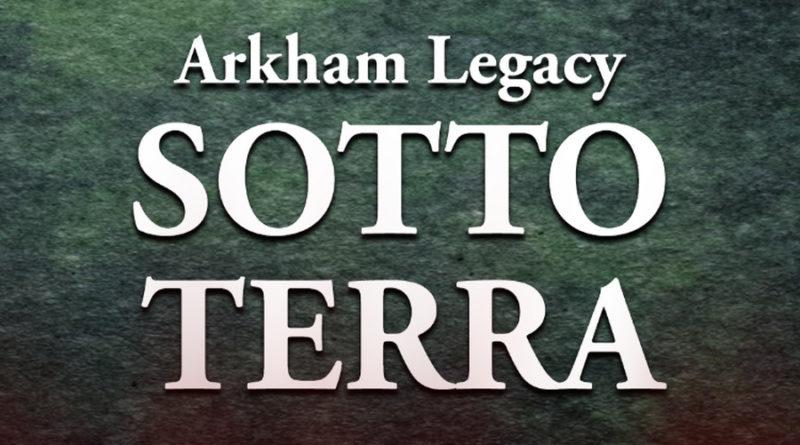 arkham legacy sotto terra meniac recensione cover