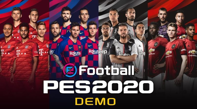 efootball pes 2020 demo meniac news
