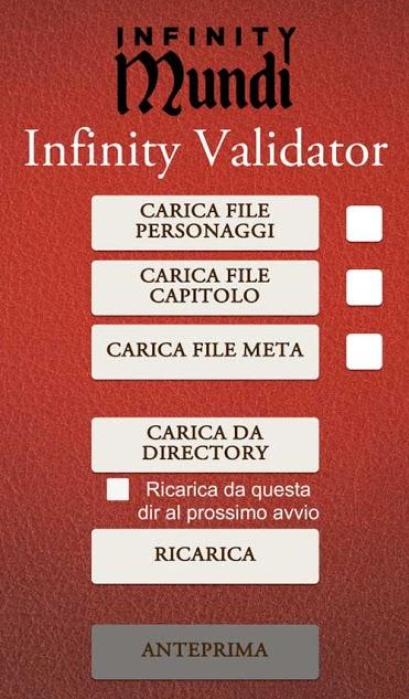 infinity mundi meniac