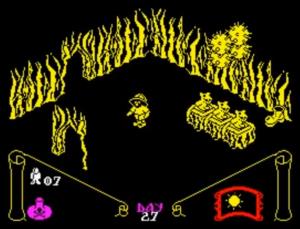 knight lore zx spectrum meniac review