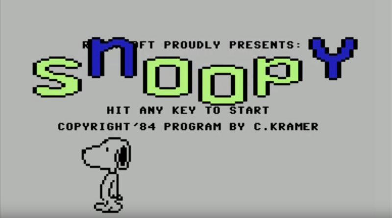 snoopy c64 meniac review retogames