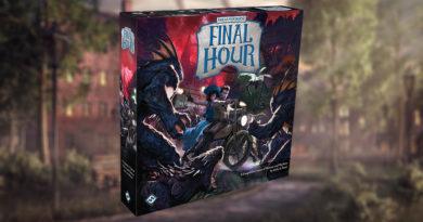 Arkham Horror final Hour maniec news