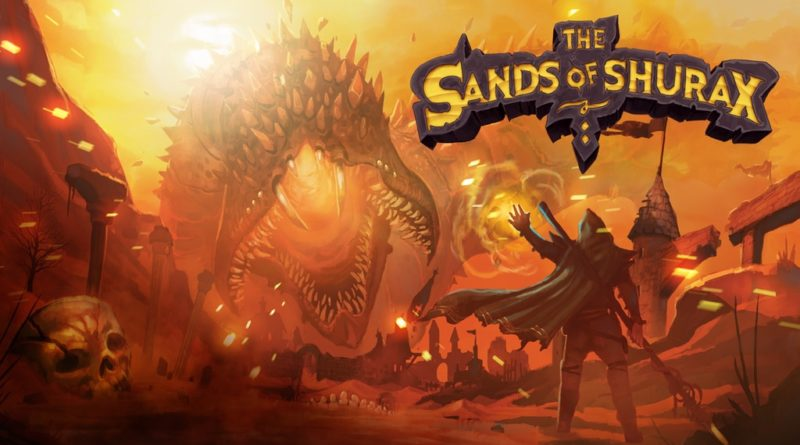 HEXplore It The Sands of Shurax kickstarter meniac news
