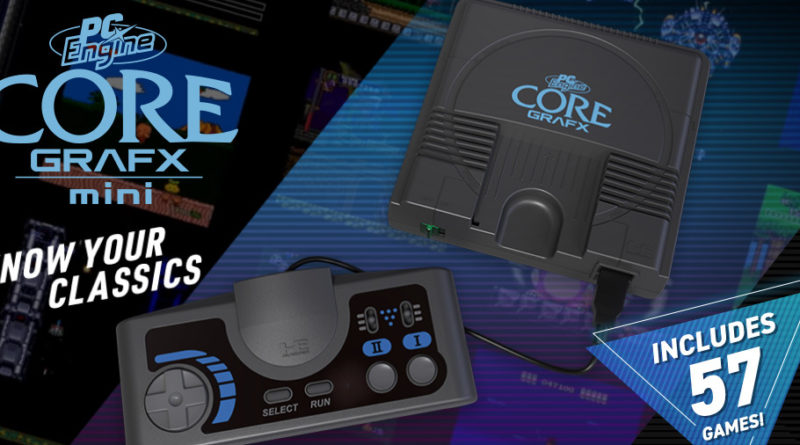 core grafx mini lista giochi cover meniac news