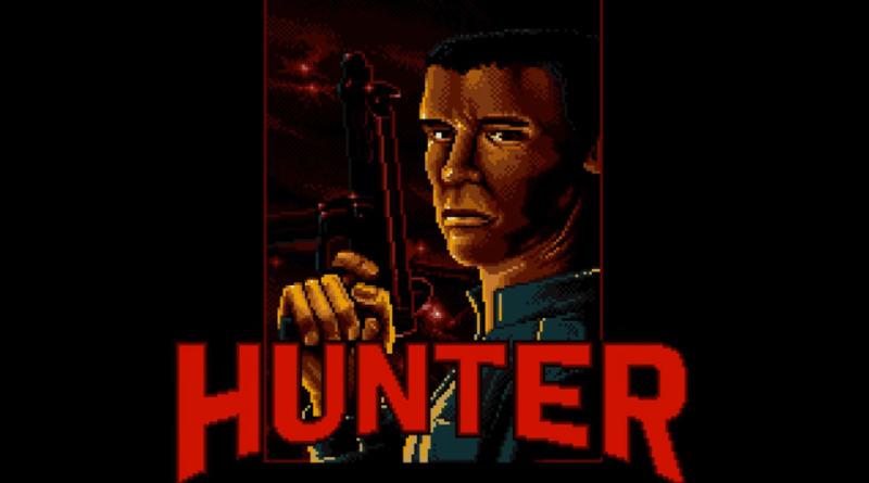 hunter amiga review meniac