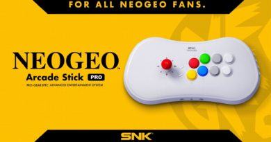 NeoGeo Arcade Stick Pro meniac news