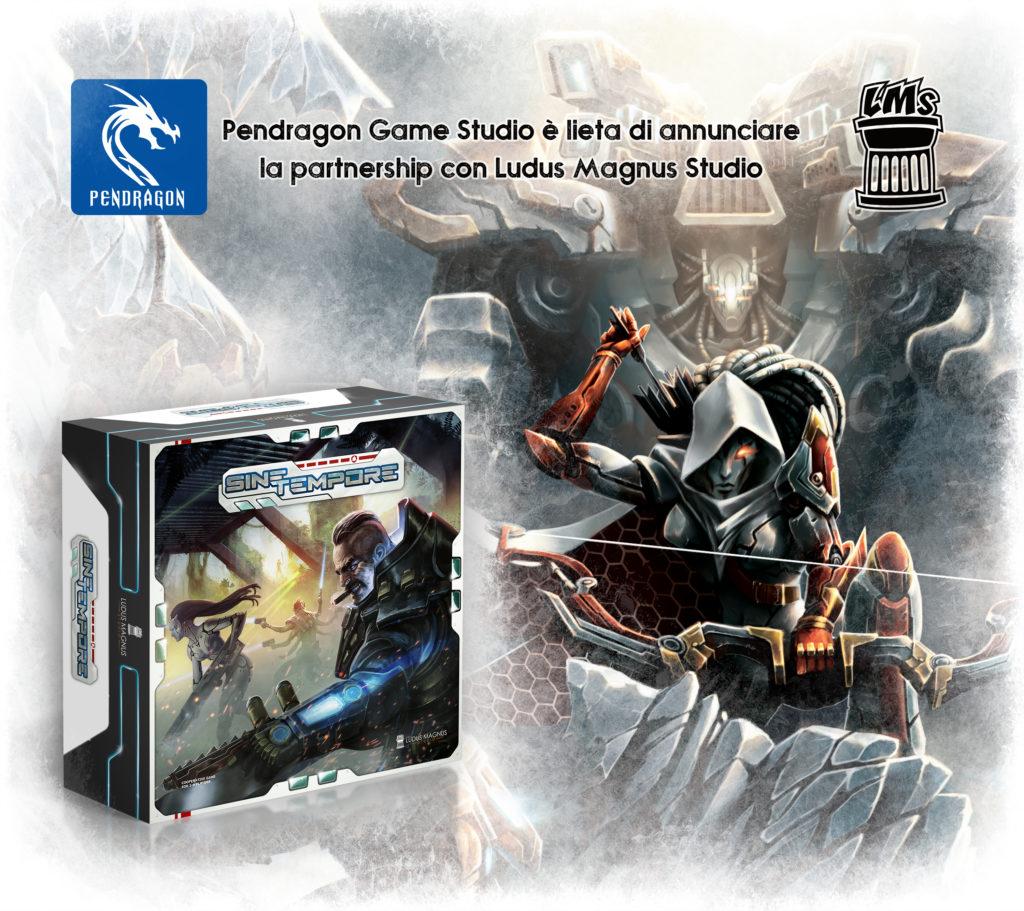 Pendragon Ludus Magnus Studio distribuzione meniac news