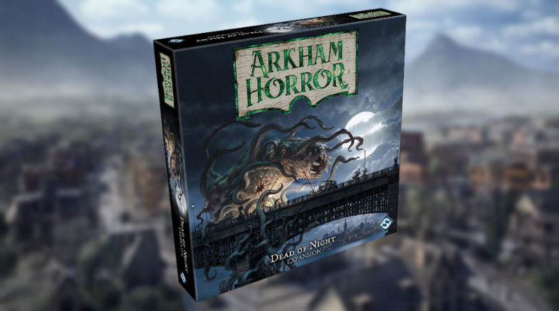 Silence of Tsathoggua arkham horror terza edizione dead of night meniac news