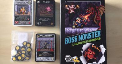 boss monster alba dei miniboss meniac cover