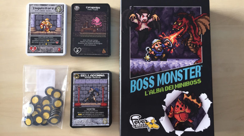 boss monster alba dei miniboss meniac cover