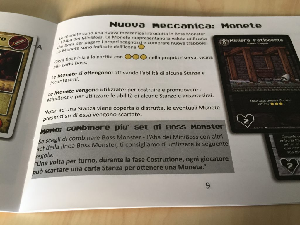 boss monster alba dei miniboss meniac recensione