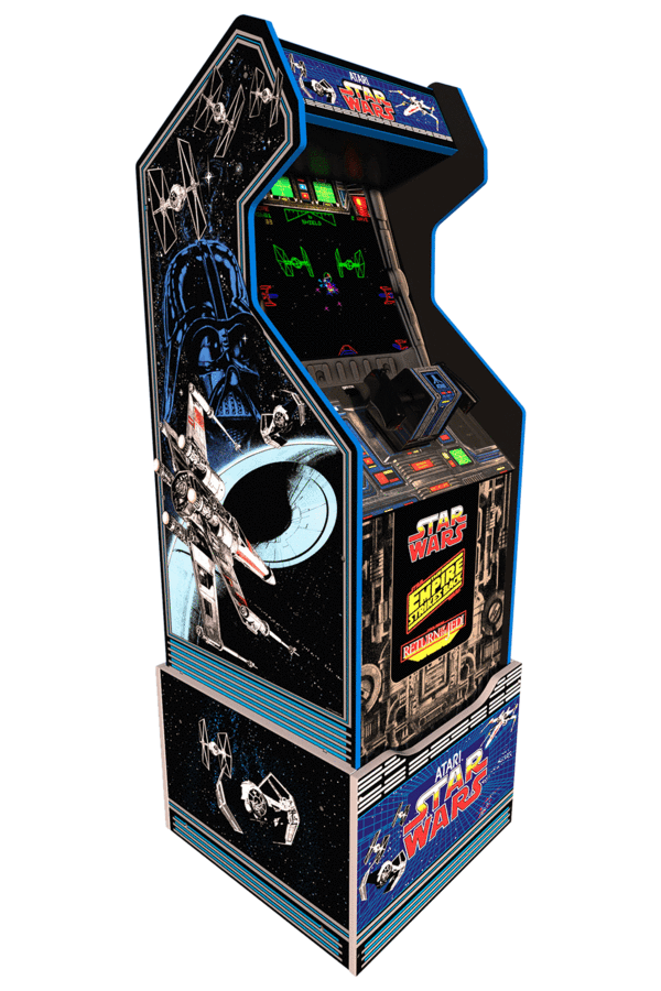 star wars home arcade cabinet meniac news