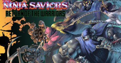 the ninja saviors return of the warriors meniac recensione cover