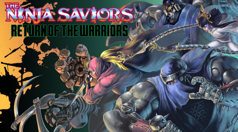 the ninja saviors return of the warriors meniac recensione cover