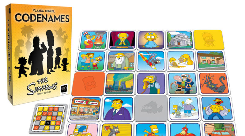Codenames The Simpsons meniac news