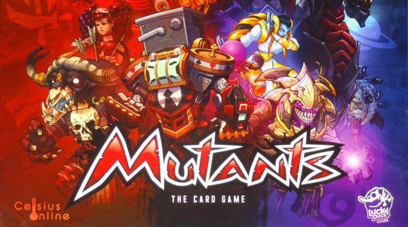 Mutants The Card Game meniac recensione