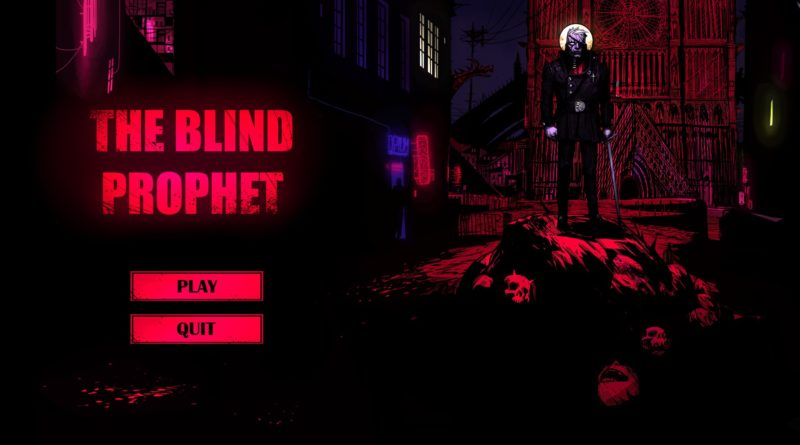 The Blind Prophet demo meniac anteprima