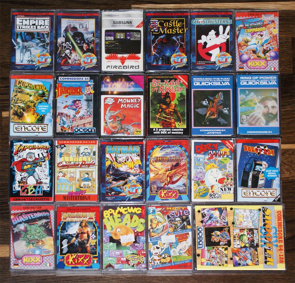 C64 games meniac