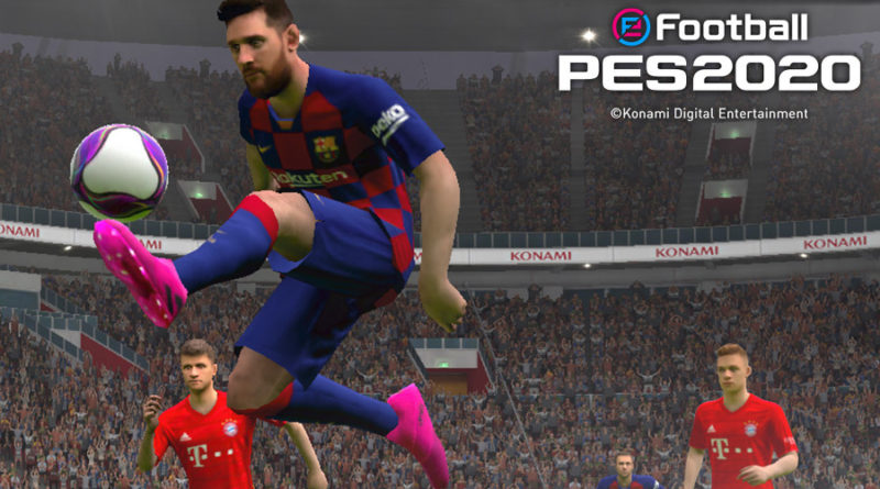 eFootball PES 2020 mobile meniac news