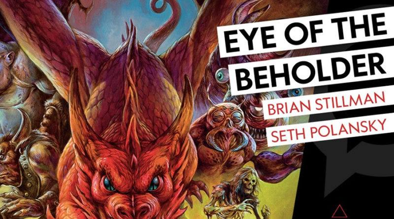 eye of the beholder the art of dungeons and dragons meniac news