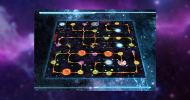 space chase boardgame meniac news