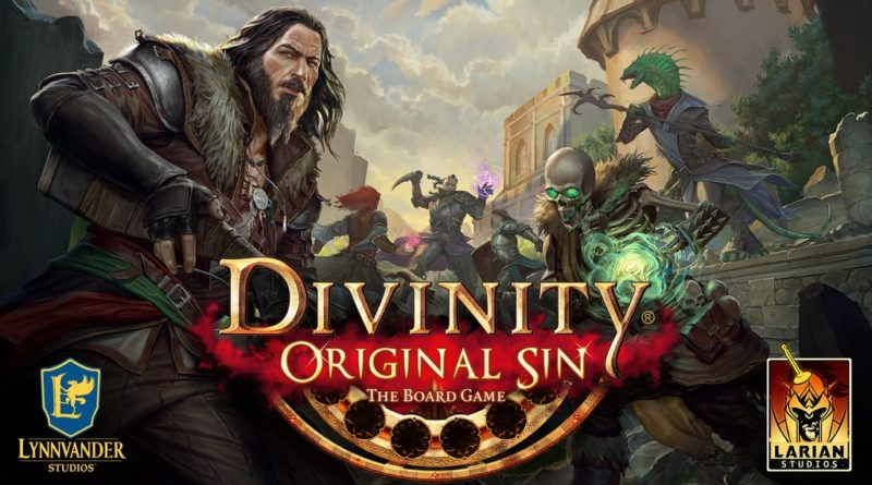 Divinity Original Sin The Board Game menia news Kickstarter