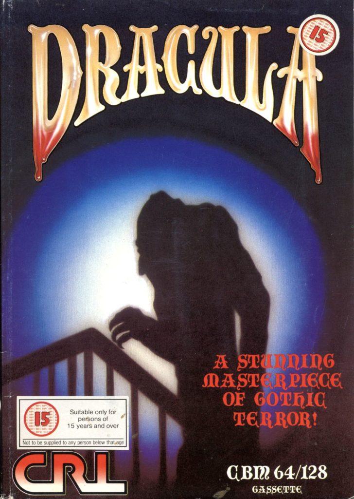 Dracula c64 cover meniac recensione 9