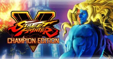 Street Fighter V Champion Edition meniac cover