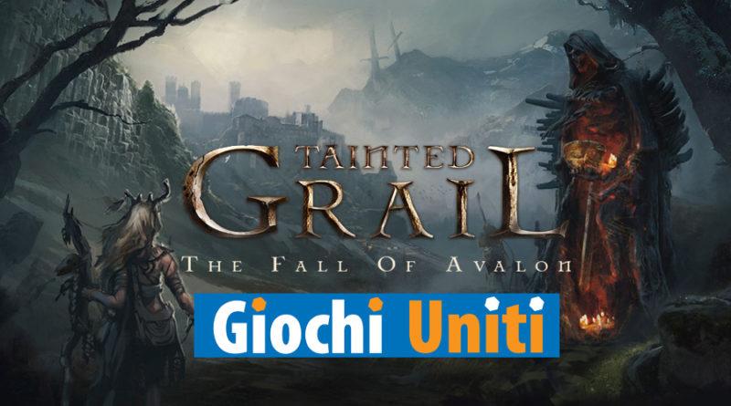 Tainted Grail sessione di gioco esclusiva Giochi Uniti