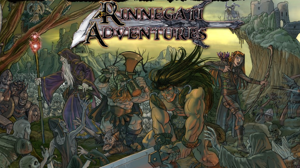 rinnegati adventures meniac cover 1
