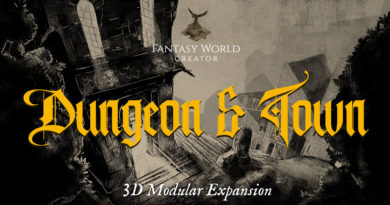 Fantasy World Creator Dungeons & Town meniac news cover