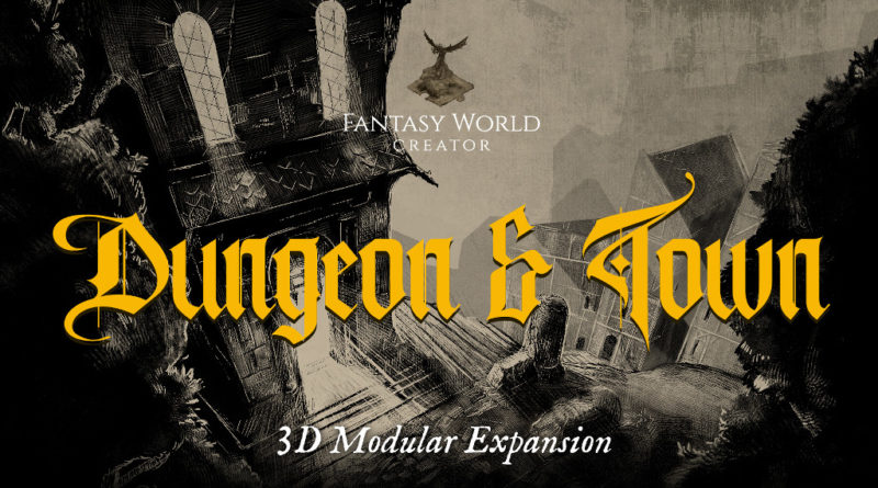 Fantasy World Creator Dungeons & Town meniac news cover