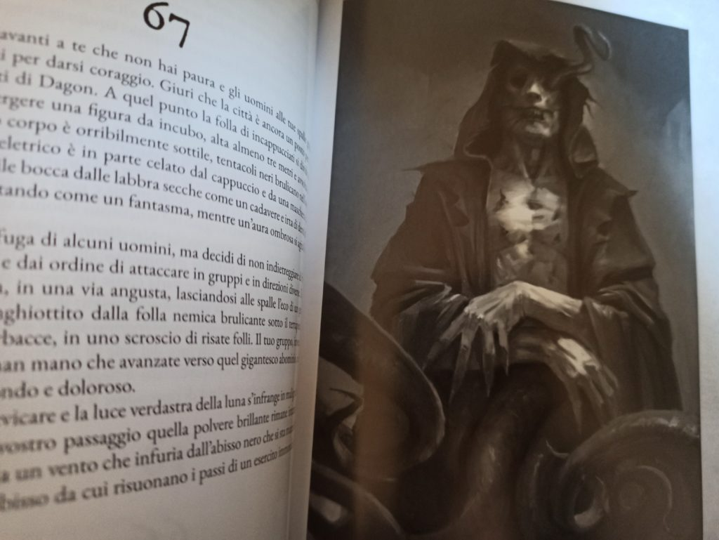 the necronomicon gamebook carcosa meniac recensione 1