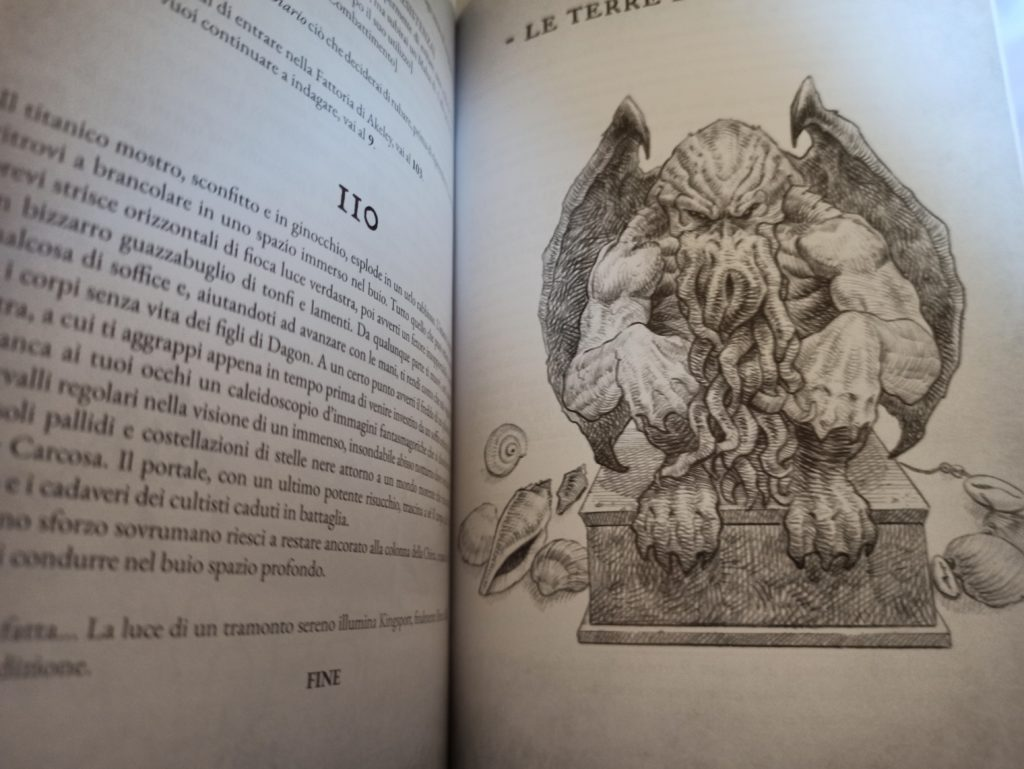 the necronomicon gamebook carcosa meniac recensione 2
