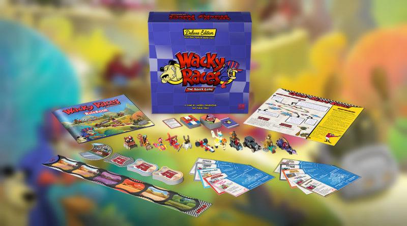 Wacky races boardgame recensione meniac