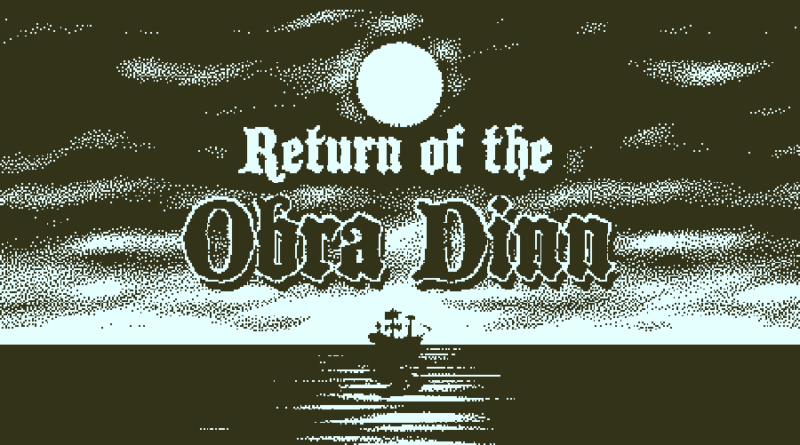 return of the obra dinn meniac recensione 1_1 cover