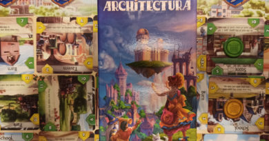 Architectura boardgame meniac cover