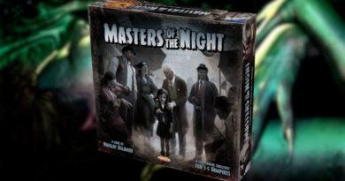 Masters of the Night kickstarter Pendragon meniac news