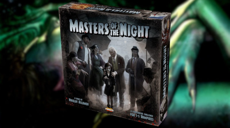 Masters of the Night kickstarter Pendragon meniac news