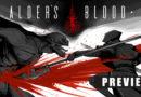 alders blood meniac preview cover