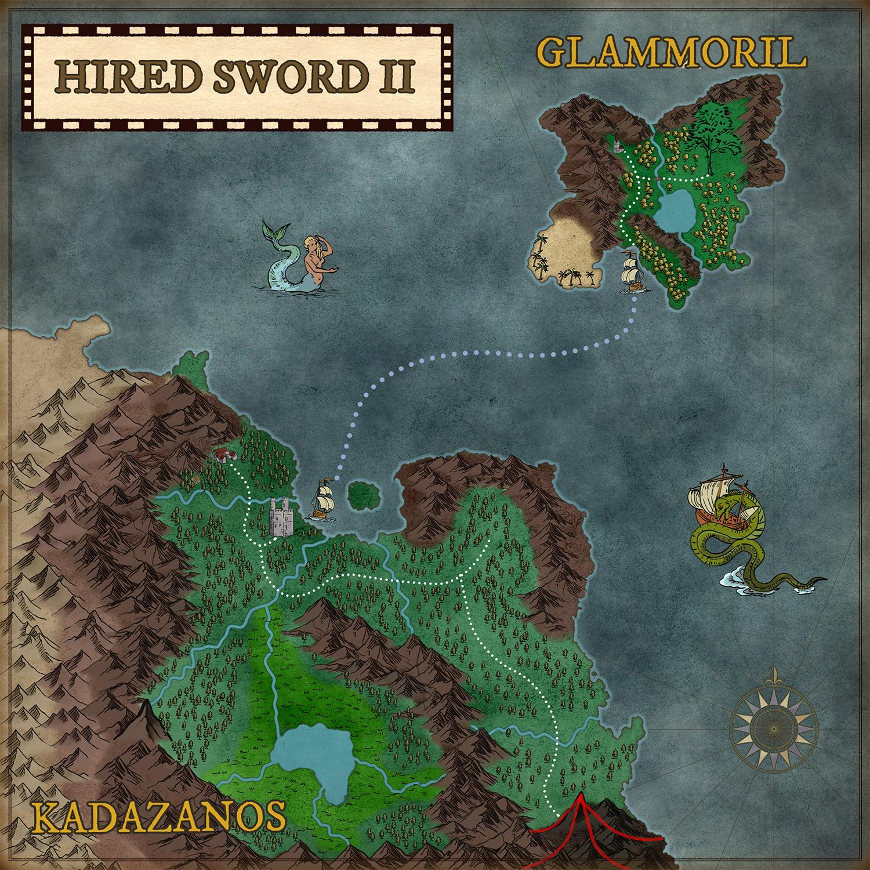 hired sword 2 commodoere 64 meniac news 2