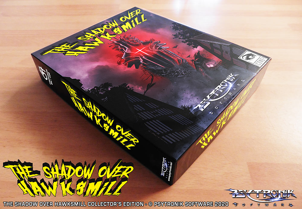 The Shadow over Hawksmill collectors edition meniac