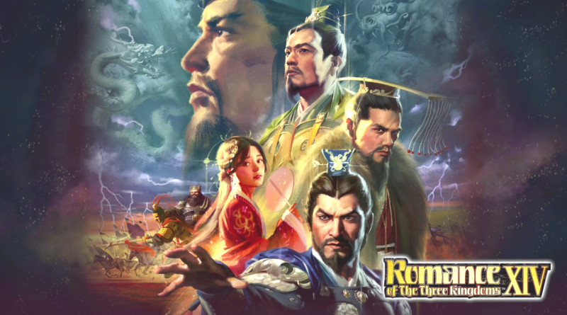 Romance of the Three Kingdoms XIV meniac recensione cover