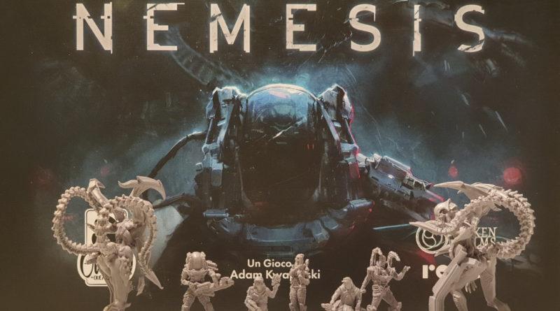 nemesis meniac recensione cover