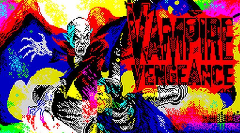 vampire vengeance zx spectrum meniac news
