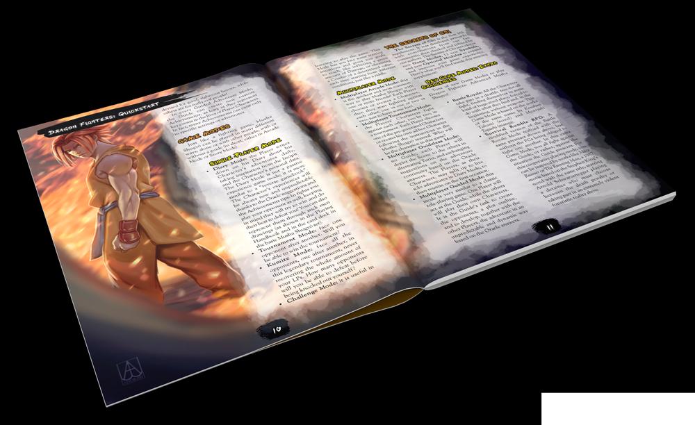 Dragon-Fighters-Advanced-Musha-Shugyo-RPG-libro meniac news 2