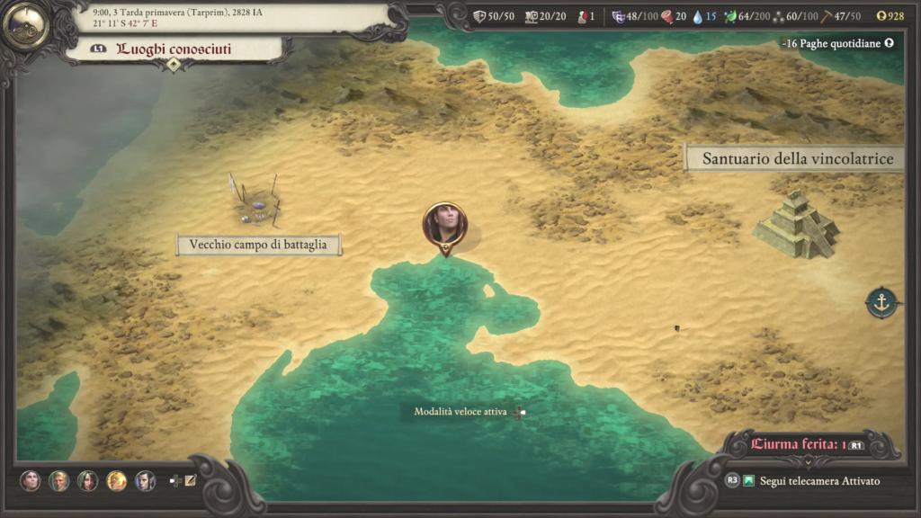 Pillars Of Eternity 2 deadfire ultimate edition console recensione meniac 3