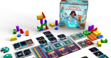 for science boardgame meniac kickstarter news