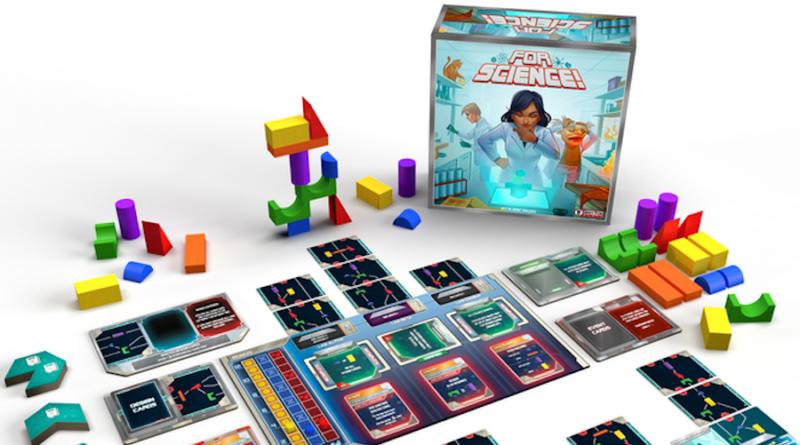 for science boardgame meniac kickstarter news